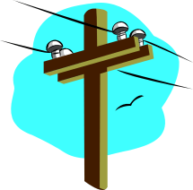 Power Poles Clipart - Clipground