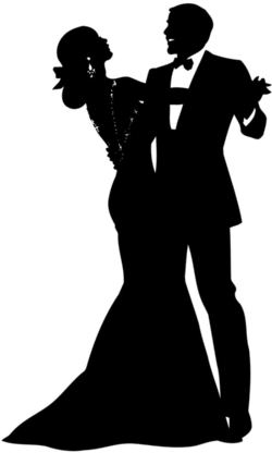 prom silhouette clipart 20 free