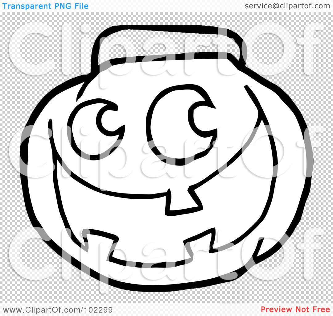 Pumpkin Bucket Clipart
