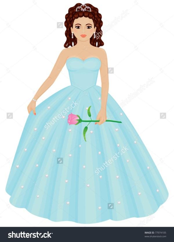 Quinceanera Dresses Clip Art