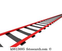 Railway line clipart Clipground