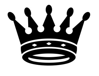Crown King Clipart Black And White