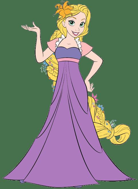 Rapunzel Dress Clipart Clipground