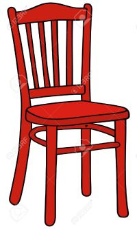 Red armchair clipart - Clipground