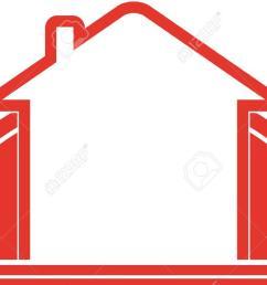 9391 house outline clipart house outline clipart clipartfan  [ 1300 x 788 Pixel ]
