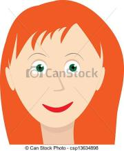 red-haired clipart - clipground