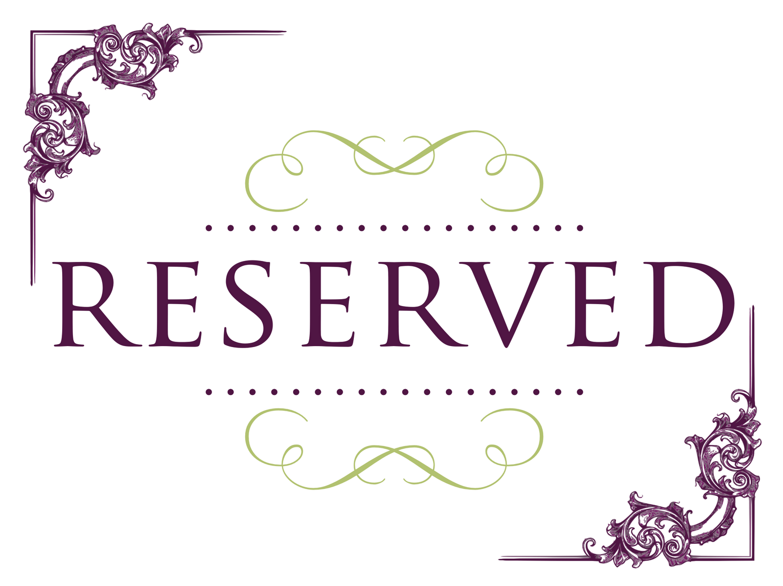 reserved signs for chairs template red arm chair seating clipart - clipground