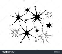 Retro Star Clipart - Clipground