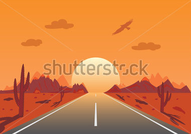 Girl Baby Shower Wallpaper Road Into Sunset Clipart Clipground