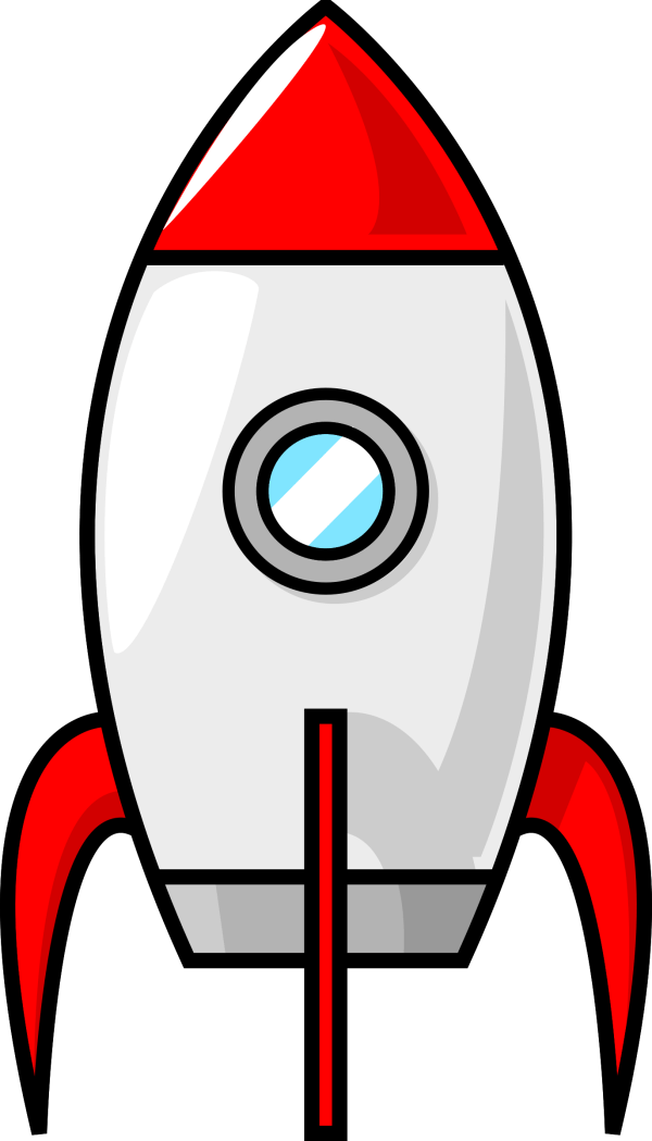 Rocket Outline Clip Art - Clipground