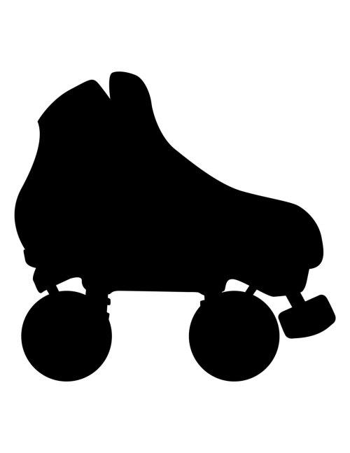 small resolution of roller skate chalkboard vinyl roller derby by thebitemeboutique