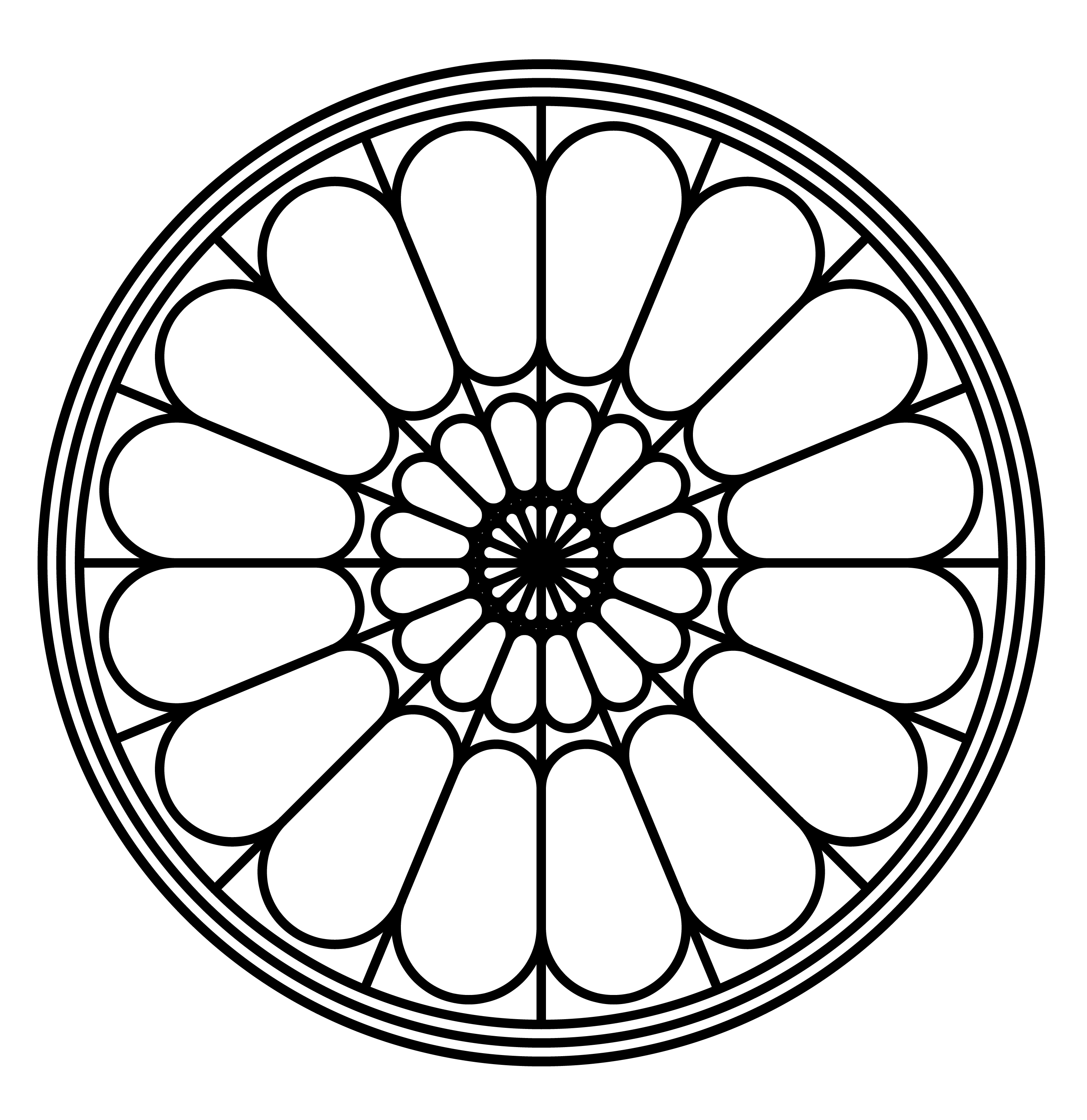 Rose Window Clipart 20 Free Cliparts Download Images On