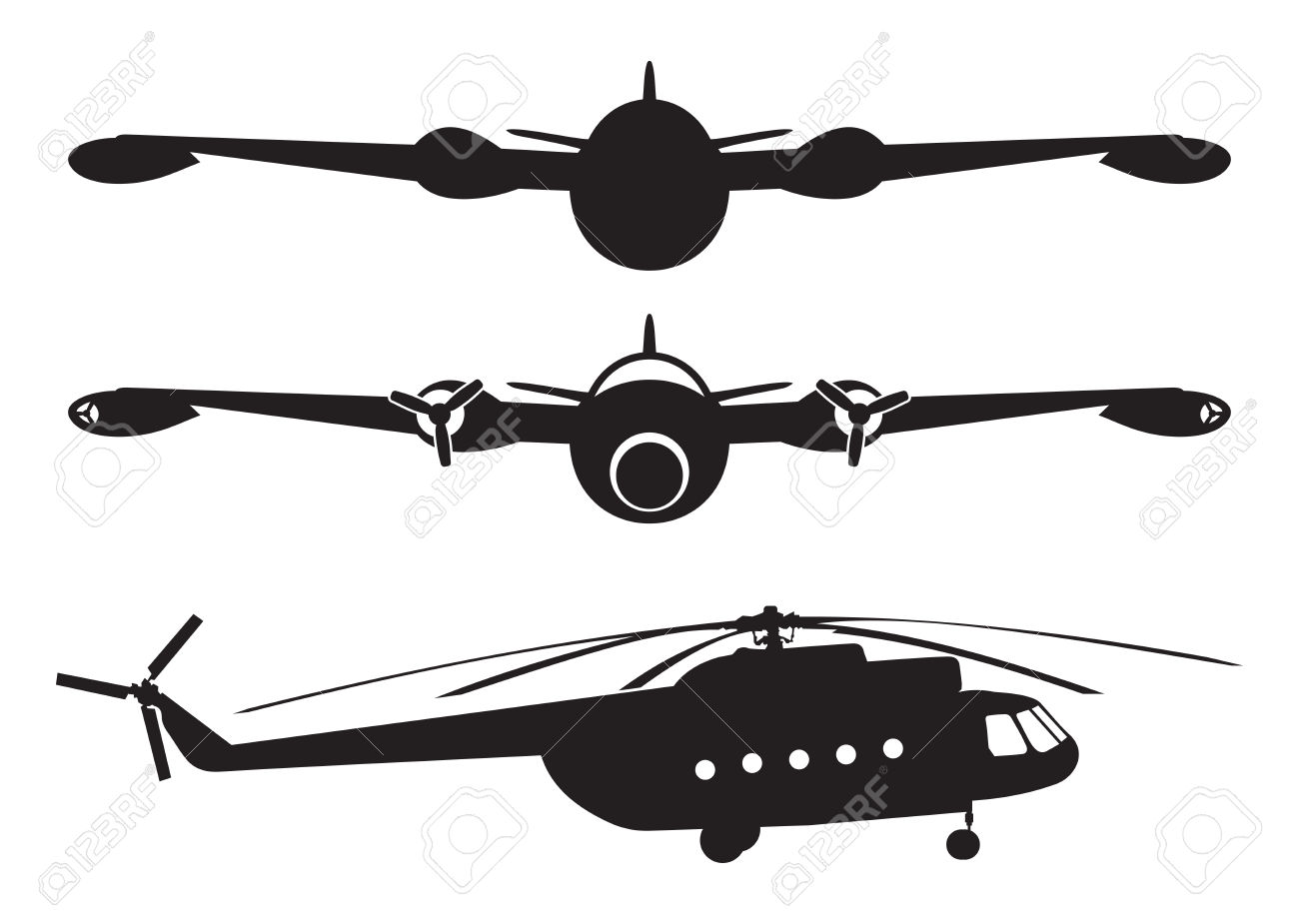 Rotor Plane Clipart 20 Free Cliparts