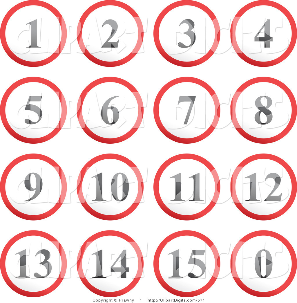 Rounding Numbers Clipart