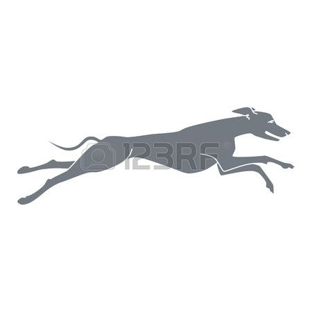 Running Greyhound Clipart Free Clipground