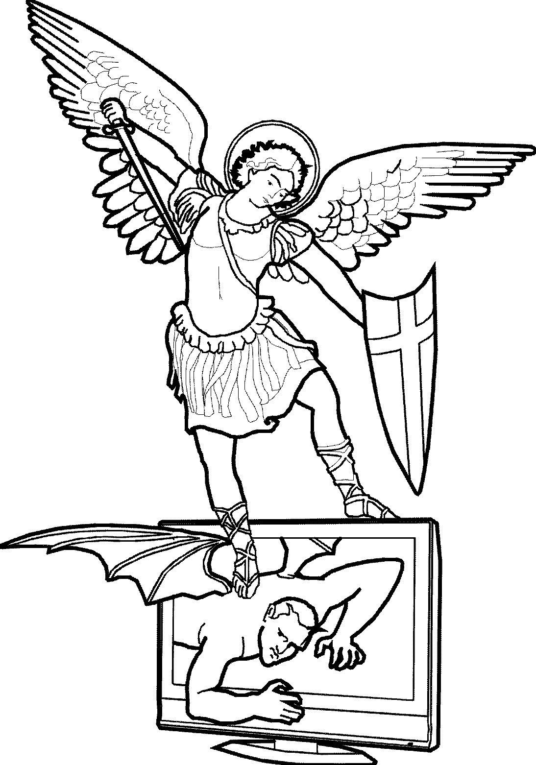 St Michael Clipart 20 Free Cliparts