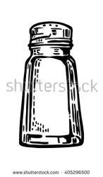salt shaker clipart cellar vector illustration shakira engraving label poster web clipground shutterstock