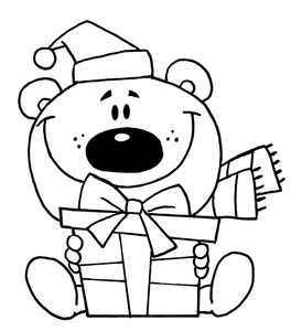 santa claus clipart coloring pages 20 free Cliparts