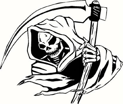 santa muerte clipart  Clipground