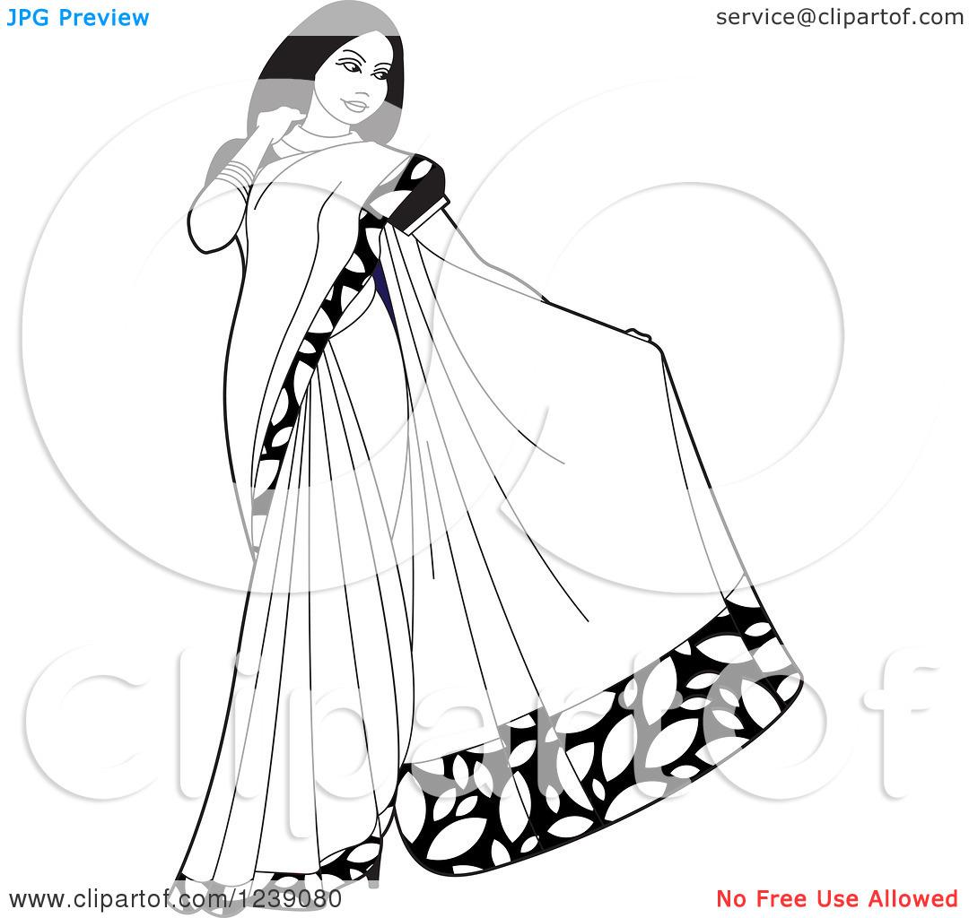 Saree Clipart