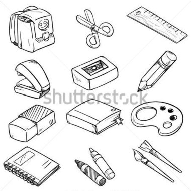 School Classroom Clipart Black And White Clipground