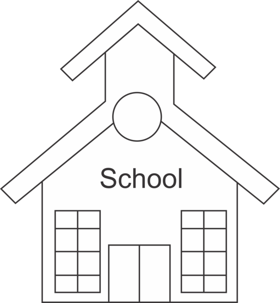 school house clipart black and white 20 free Cliparts