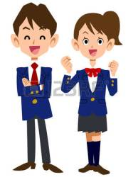 uniform clipart students student illustration graphic working clipground clip check smile websites reports powerpoint presentation pdf any project these royalty
