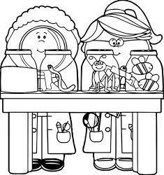 science clipart clip lab drawing kid cliparts clipground library project clipartmag