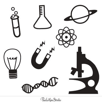 science technology engineering math clipart black and