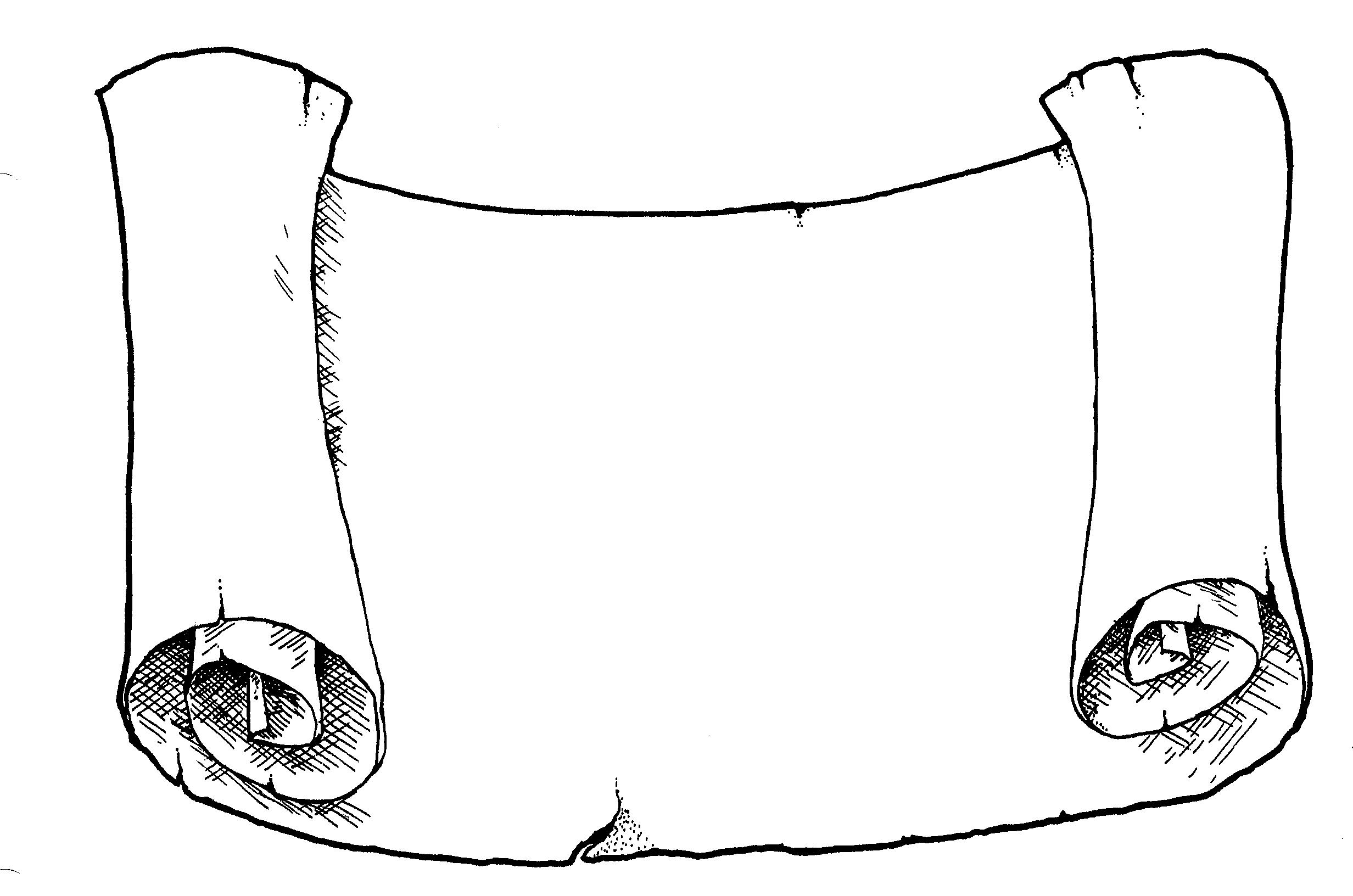 Clipart Scroll Banner