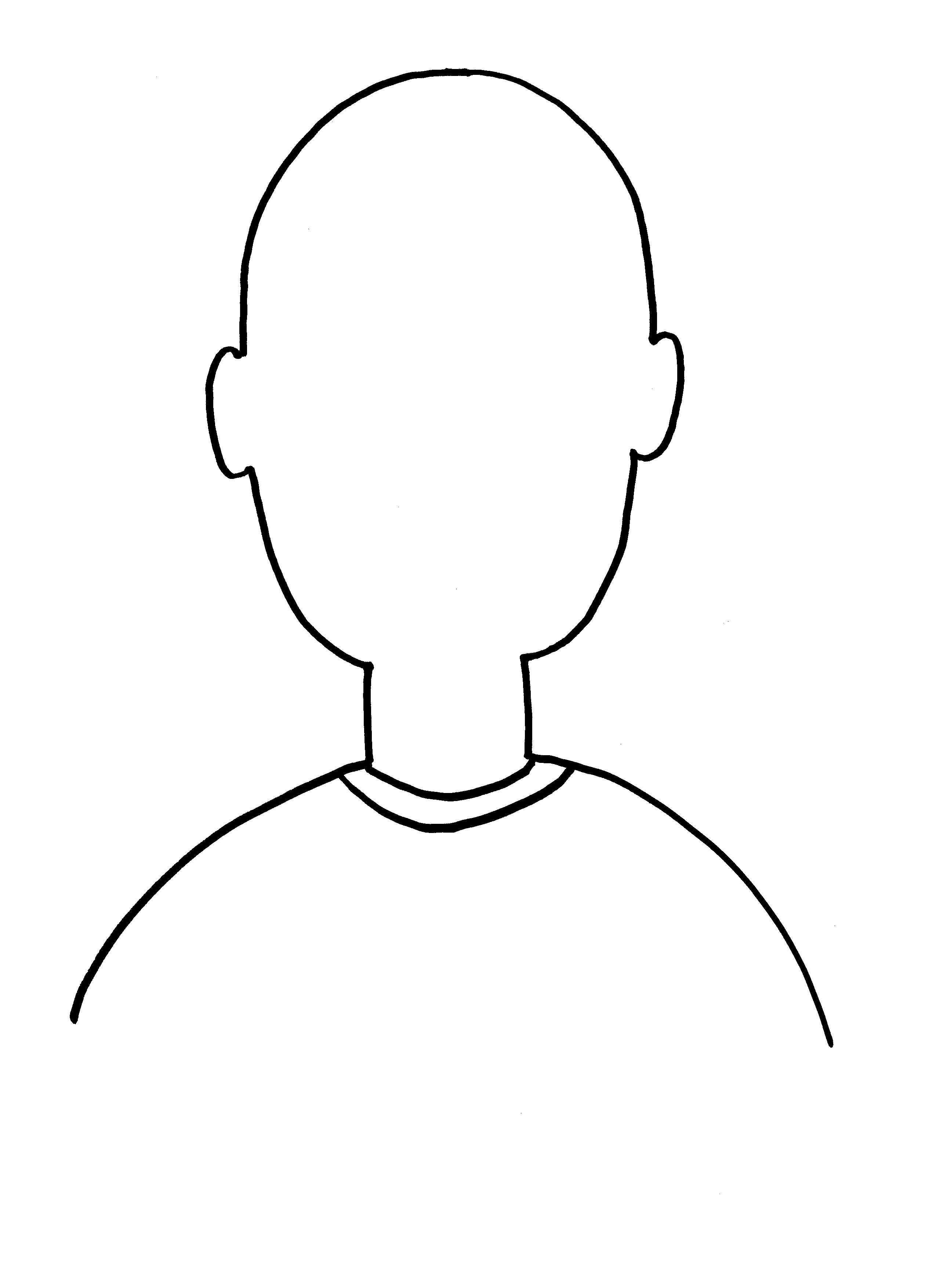 Self Portrait Clipart