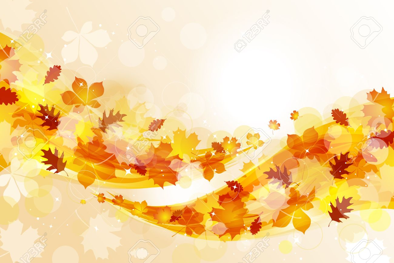 Fall Wallpaper Cartoon September Background Clipart Clipground