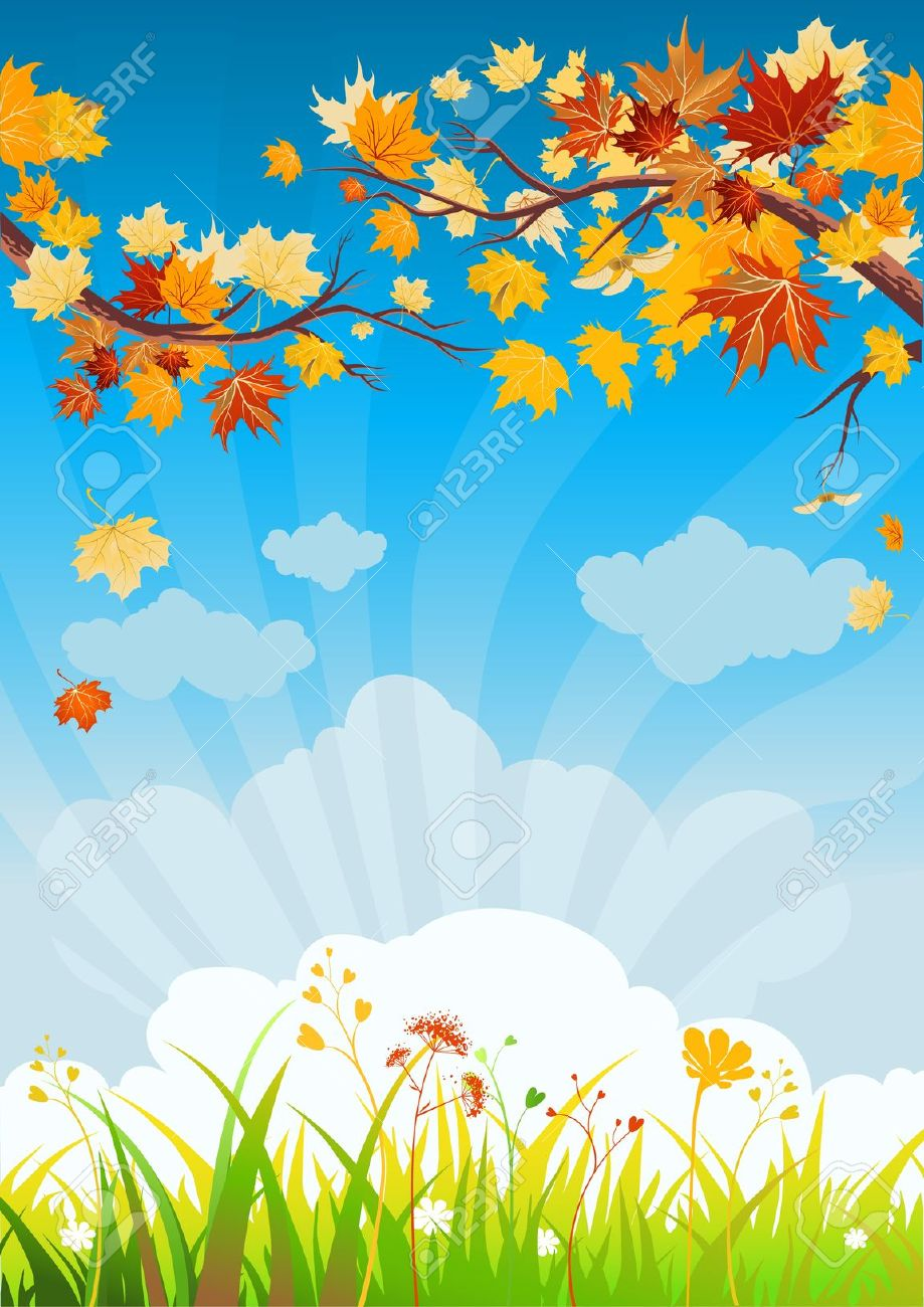 Fall Wallpaper With Owls September Background Clipart Clipground