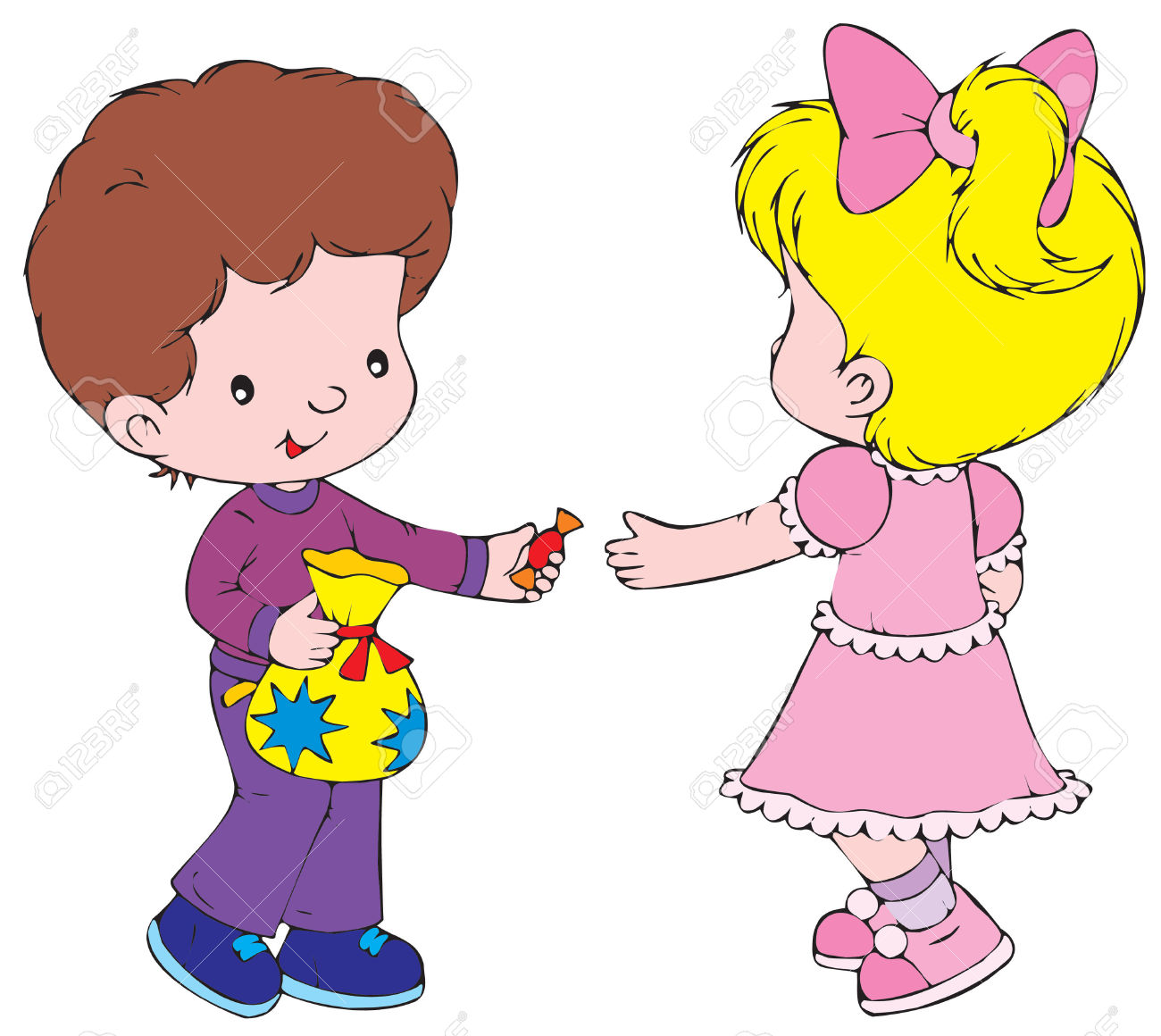 Sharing Toys Clipart Clipground