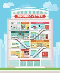 shopping clipart mall building center centre toy shops ice cream clipground 123clipartpng