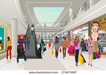 shopping clipart centre mall clip clipground