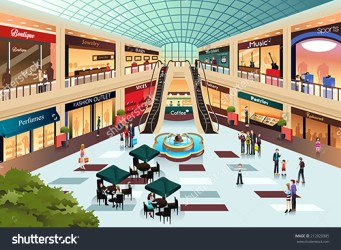 clipart shopping centre mall animated clipground cliparts