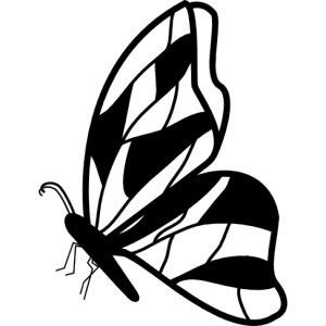 butterfly side outline profile clipart wings irregular icon vector icons downloads butterflies silhouette freepik clipground shape ago animals clipartmag eps