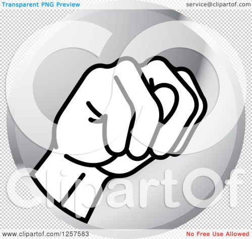 small resolution of clipart of a silver icon of a sign language hand gesturing letter