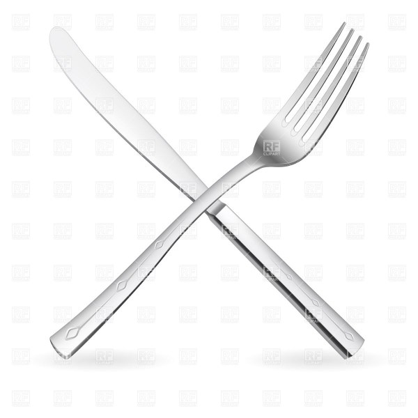 Silver fork clipart Clipground