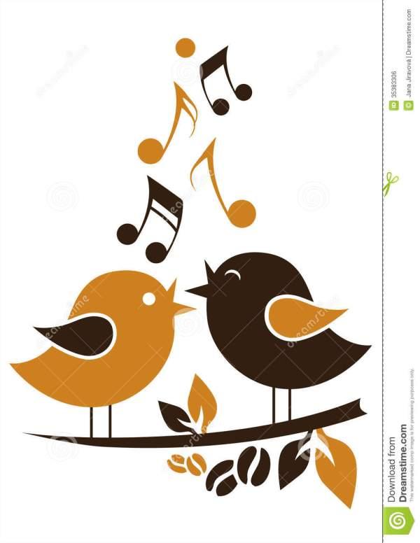 Singing Bird Clipart - Clipground