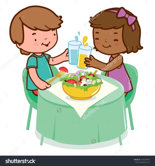 small resolution of kids at water table clipart
