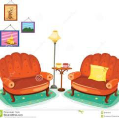 Living Room Pictures Clipart Small Kitchen Dining Design Sitting Clipground Couch Clip Art