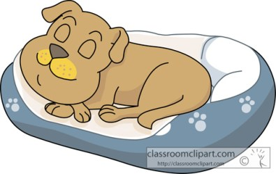 dog sleeping bed clipart basket sleep clip animals cat classroom puppy transparent clipground graphics results classroomclipart hits together