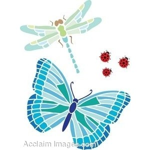 slender dragonfly clipart - clipground