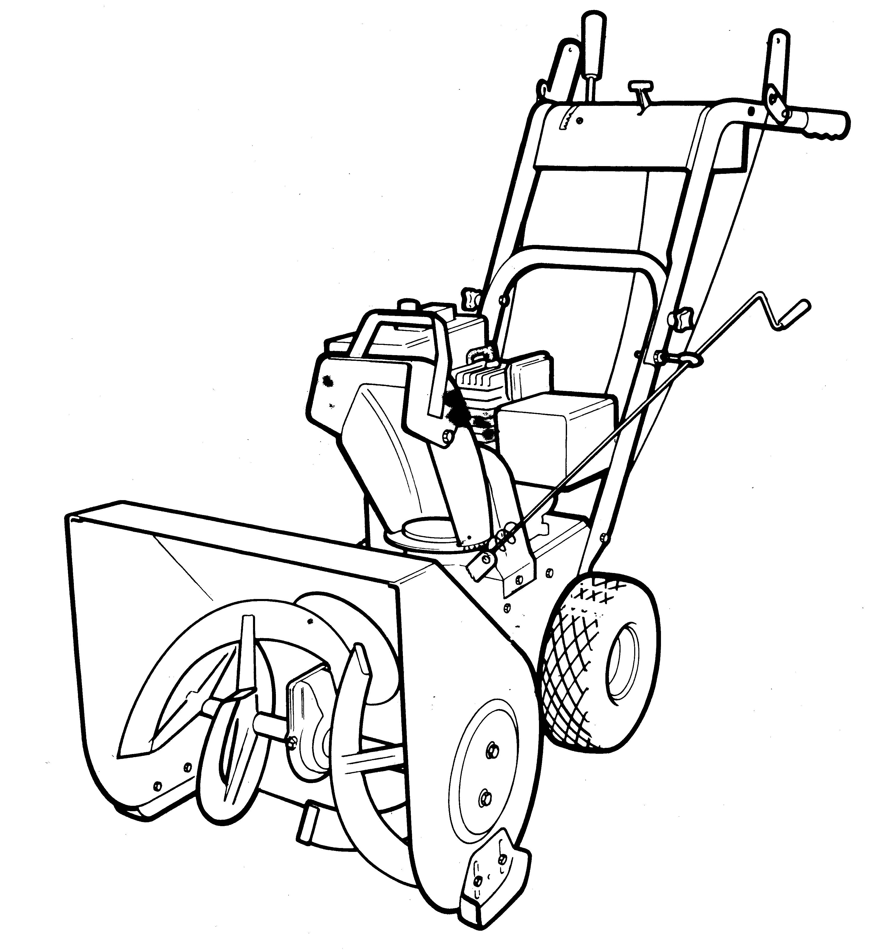 Snow Blower Clipart