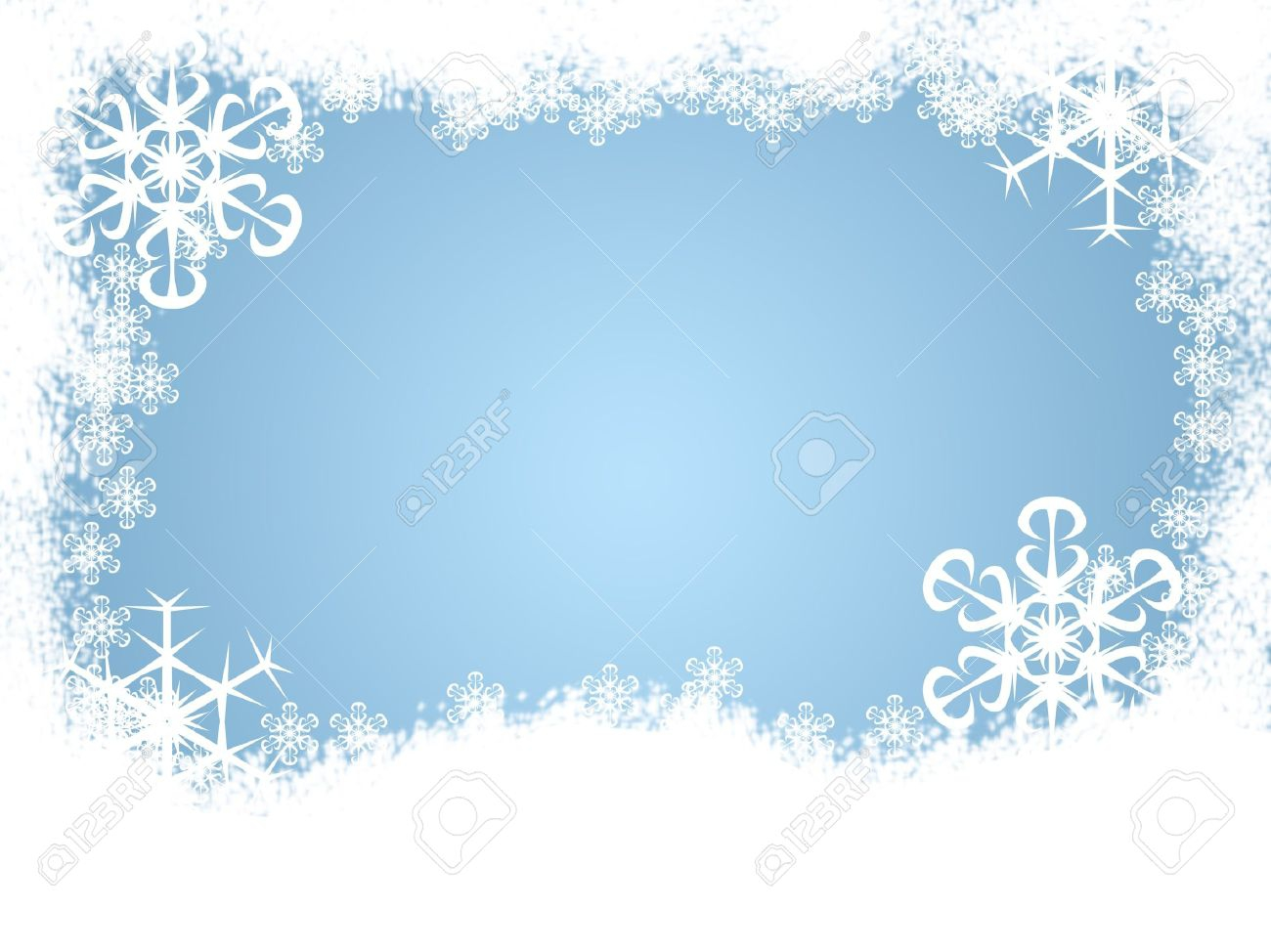 hight resolution of snow border clipart 2205050