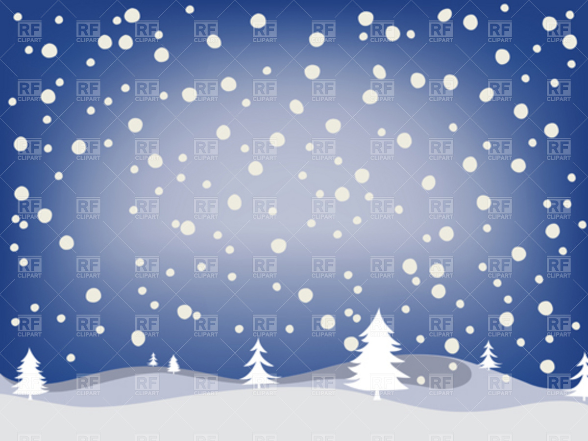 Free Download Of Christmas Wallpaper With Snow Falling Snowy Landscape Clipart Clipground