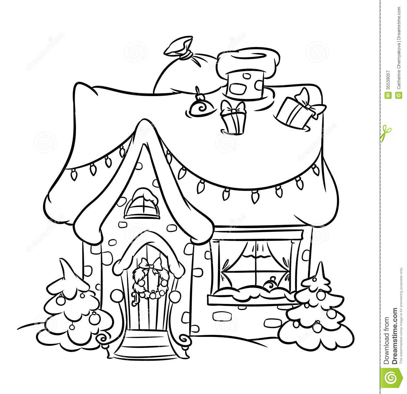 Snow House Black And White Clipart 20 Free Cliparts
