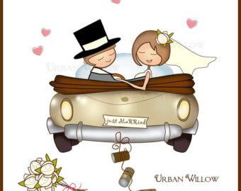 Wedding car clipart  Clipground